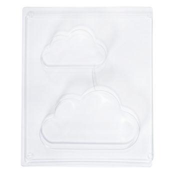 Giessform Wolken zum Ausgießen