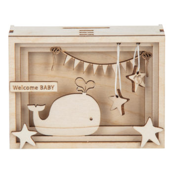 Holz-Bausatz für Geschenkbox