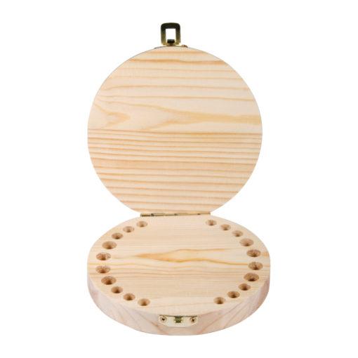 Holzbox zum Aufbewahren für Milchzähne