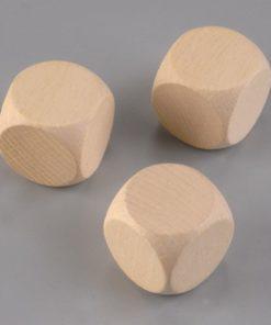 Efco Holzwürfel Buche, gebleicht, 30mm