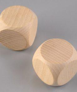 Efco Holzwürfel 40mm, Buche, gebleicht