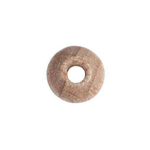 Rohholz-Perlen, 8mm ø