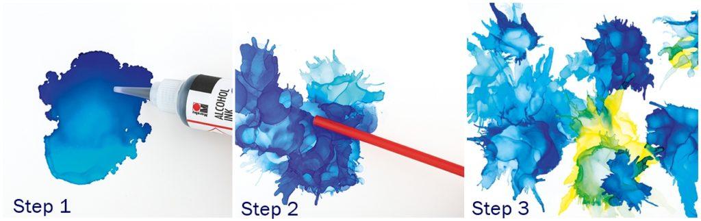 Die  Colour Splash Technik. in 3 Schritten erklärt.
