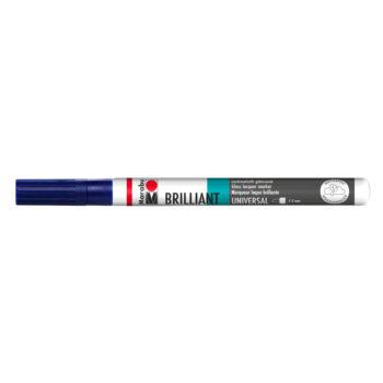 Marabu Brillant Painter mit Universalspitze 1-2 mm, Nachtblau
