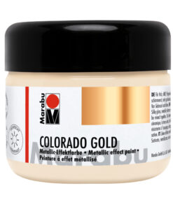 Marabu Gold Metallic-Effektfarbe Weißgold