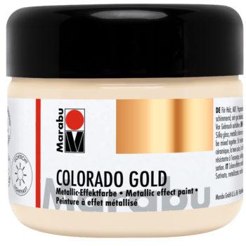 Marabu Colorado Gold, 225 ml, Weißgold, Metallic-Effektfarbe
