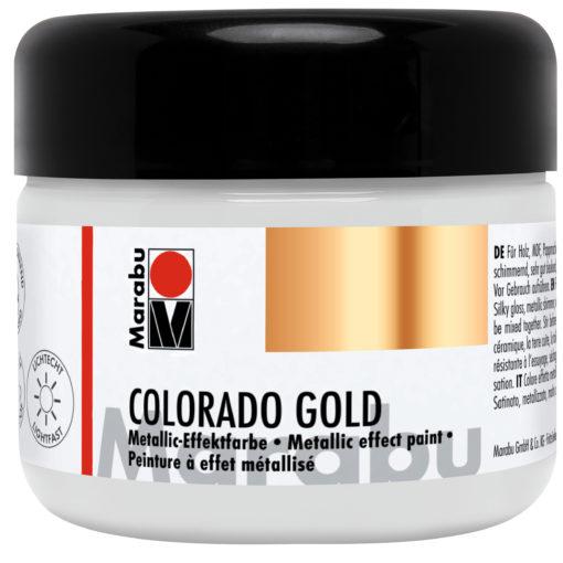 Marabu Colorado Gold, 225 ml, Metallic-Gold, Effektfarbe