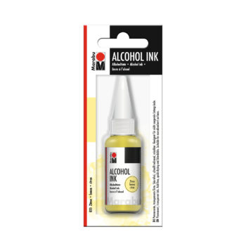 Marabu Tinte Alcohol Inc, Zitron, 20ml