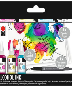 Marabu Alcohol-Ink-Set Flowers