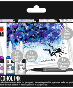 Marabu Alcohol Ink Set Unterwater