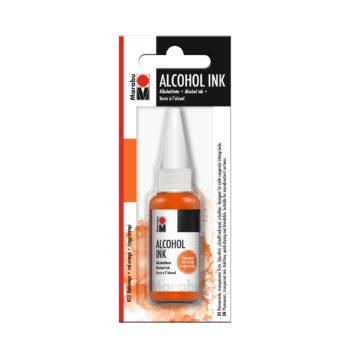 Marabu Alcohol Ink Tinte, rotorange, 20ml
