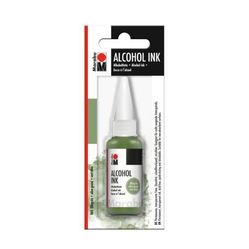 Marabu Alcohol Ink Tinte, olivgrün, 20ml