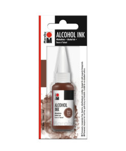 Marabu Alcohol Ink Tinte, braun, 20ml