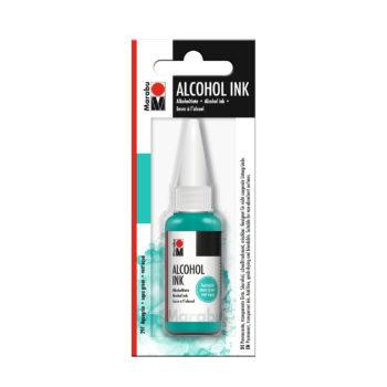 Marabu Alcohol Ink Tinte, aquagrün, 20ml