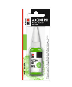 Marabu Alcohol Ink Tinte, Apfel, 20ml