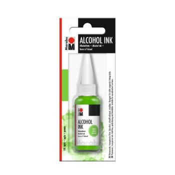 Marabu Alcohol Ink Tinte, Apfel, 20ml
