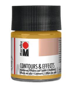 Marabu Contours & Effects, 50ml, Glas, metallic gold