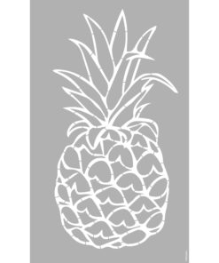 Marabu Schablone Pineapple, 40x66 cm zum Schablonieren
