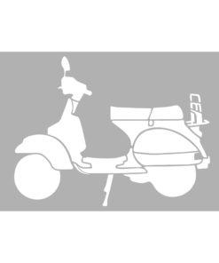 Marabu Schablone Scooter, 40x66 cm, zum Schablonieren