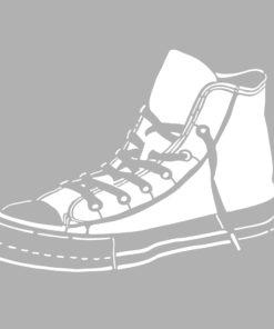 Marabu Schablone Sneaker, 33x33 cm, zum Schablonieren