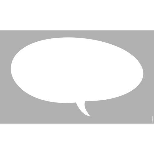 Marabu Schablone Speech Bubble, 40x66 cm, zum Schablonieren