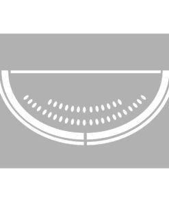 Marabu Schablone Watermelon, 10x15 cm, zum Schablonieren