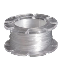 Rayher Gummifaden Magic-Strech, 0,8 mm Ø, weiß, 5 m