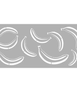 Schablone Banana 31,5 x 66 cm, zum Schablonieren