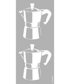 Schablone Espresso zum Schablonieren