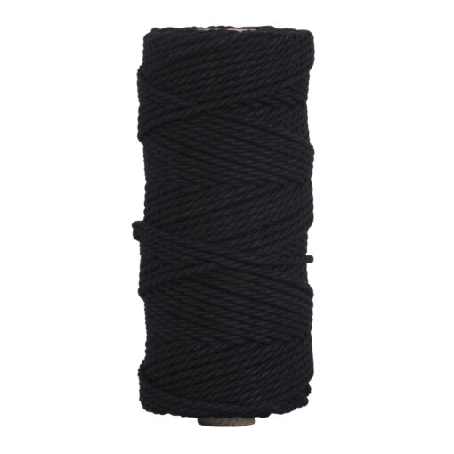 Garn, 3,7mm ø in schwarz zum Basteln