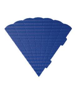 Geschwister-Schultüte, Wabenwelle, blau