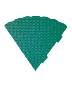 Geschwister-Schultüte, Wabenwelle grün