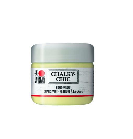Marabu Kreidefarbe Chalky-Chic, 112 zartgelb