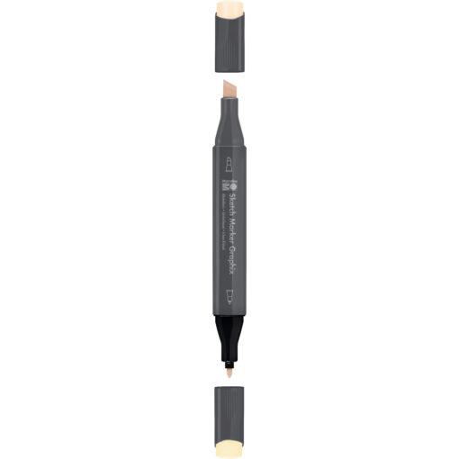 Marabu Tintenstift Sketch Marker Graphix, rosé beige