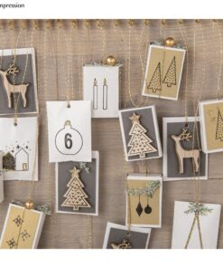 Clear Stamps - Adventskalender Nordic