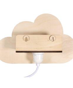 Holzbausatz, Wandlampe, Wolke
