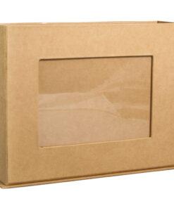 Box aus Pappmache mit Fotorahmen