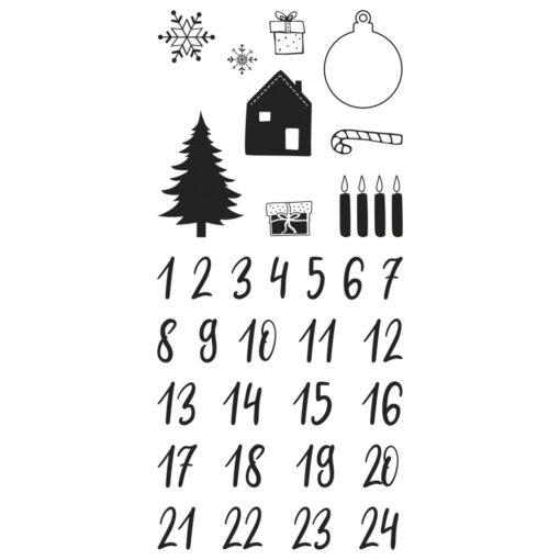 Clear Stamps Adventskalender Classic, zum Gestalten