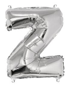Folienballon Z, zum Befüllen mit Luft