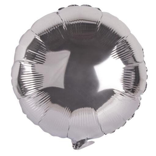 Folienballon rund, zum Befüllen mit Luft oder Helium