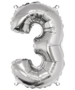 Folienluftballon 3, zum Befüllen mit Luft