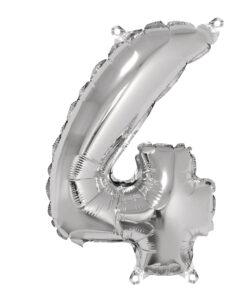 Folienluftballon 4, zum Befüllen mit Luft