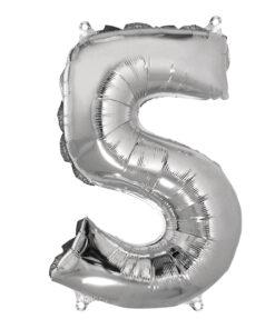 Folienluftballon 5, zum Befüllen mit Luft