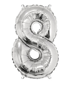 Folienluftballon 8, zum Befüllen mit Luft