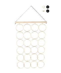 Hängeboard Ringe Set, zum Gestalten