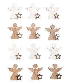 Holz-Streuteile Engel zum Streuen und Dekorieren