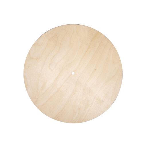 Holzplatte, 30 cm Ø, zum Basteln und Gestalten