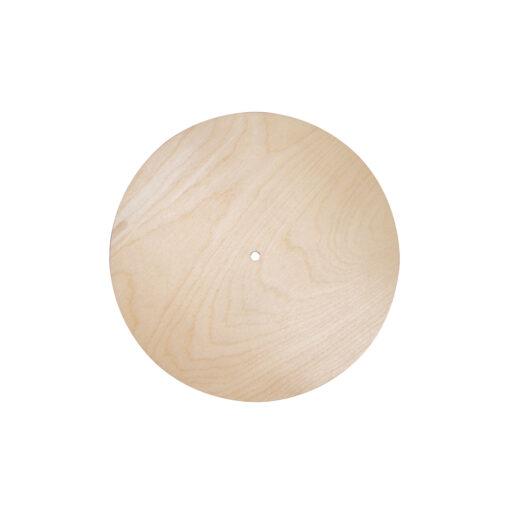 Runde Holzplatte, 25 cm Ø, zum Basteln und Gestalten