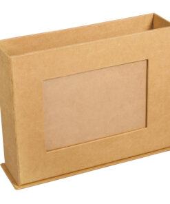 PappArt Box mit Fotorahmen zum Bemalen