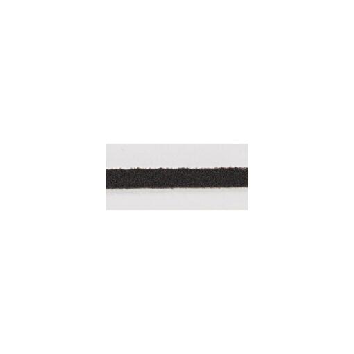 Micro Wildleder in dunkelbraun